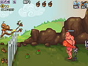 Juega al juego gratis Defend Your Nuts