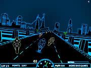 3D Neon Race game