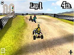 3D Quad Racing game