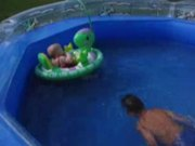 Watch free video Backyard pool kids