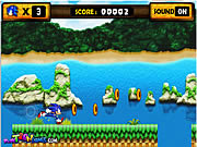 Play Sonic Runner Game