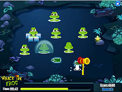 Whack the Frog game
