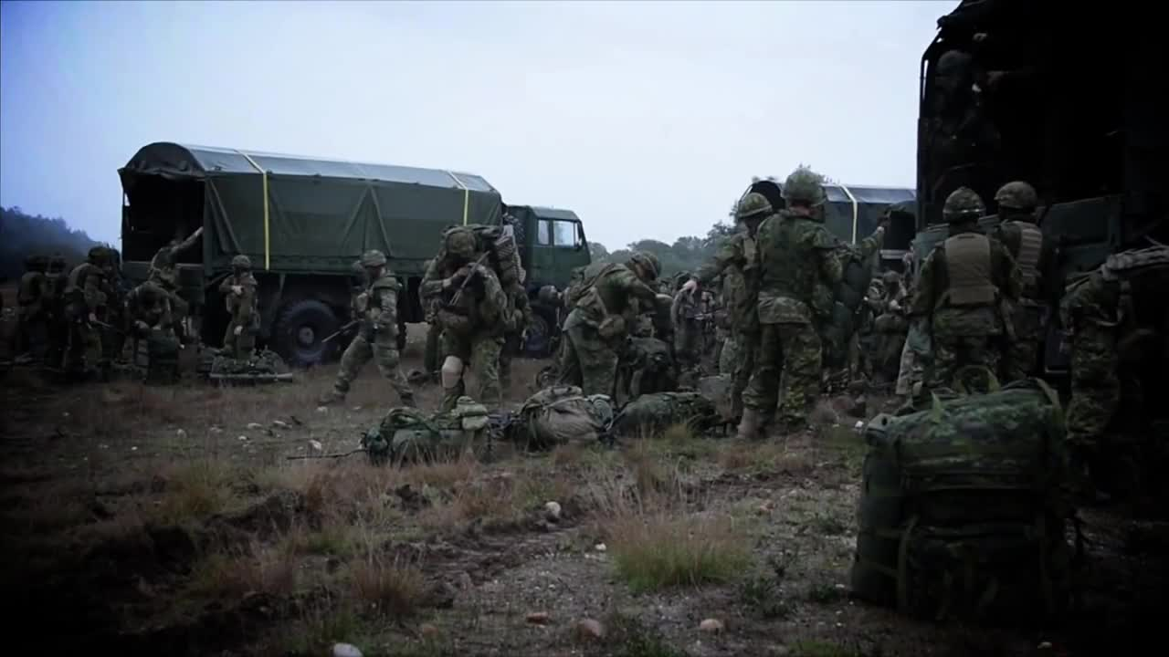 Watch free video Intensive Military Training
