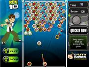 Ben 10 and alien balls game
