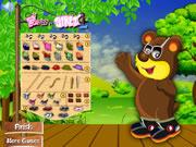My Bear Dress Up game