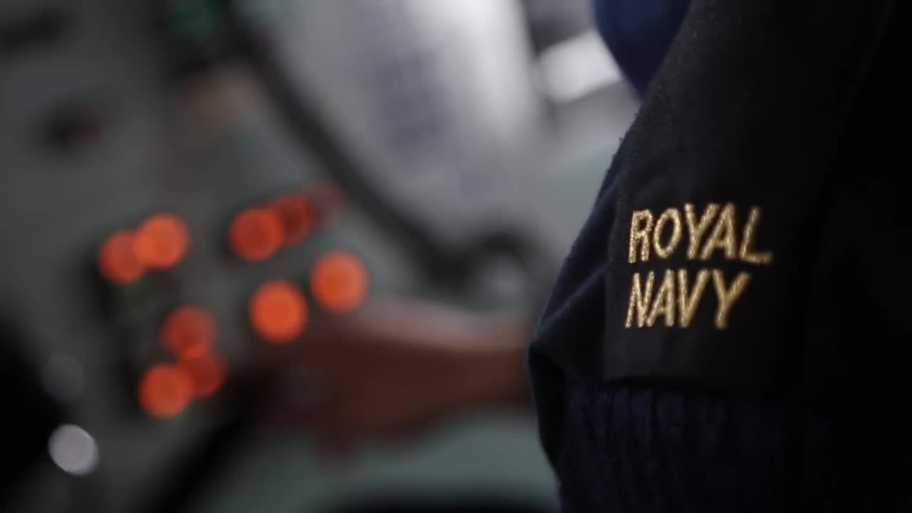 Watch free video British Royal Navy prepares for Trident Juncture