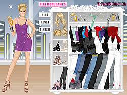 Carrie Underwood Dress Up Game game