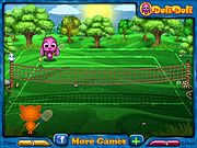 Juega al juego gratis Toto and Sisi Play Tennis