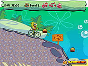 Spongebob Bike Ride لعبة
