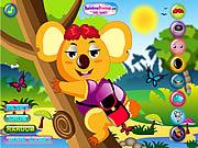 Cool Koala Dress Up game
