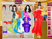 Glamorous Prom Dress Up game