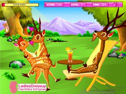 Deer Kissing game