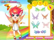 Rainbow Fairy Dress UP game