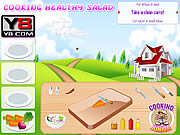 Juega al juego gratis Cooking Healthy Salad