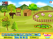 Smiley Deco Farm Field game