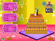 Juega al juego gratis Wedding Cake Decoration Game