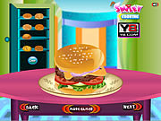 Cooking Big Burger game