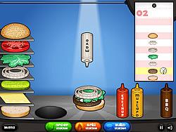 Juega al juego gratis Papa's Burgeria