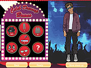 Celebrity Dress Up Bruno Mars game