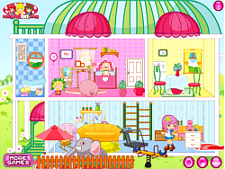 Small People House game