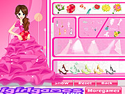 Glamour Bride Dress Up game