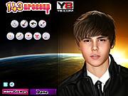 Justin Bieber Celebrity Makeover game