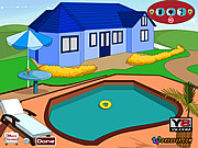 Juega al juego gratis Swimming Pool Decoration