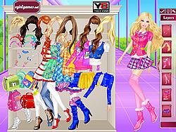 Juega al juego gratis Barbie at School