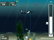Juega al juego gratis Pearl Diver Miniclip