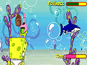 Juega al juego gratis Sponge Bob Square Pants: Shell Throwing