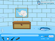 Juega al juego gratis Ice House Escape