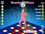 Juega al juego gratis Dancing Hillary