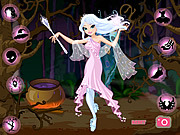 Juega al juego gratis Good Witch Makeover
