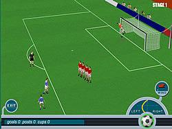 Roby Baggio Magical Kicks game