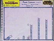 Paper Cannon game