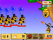 Juega al juego gratis Honey Tree Defence