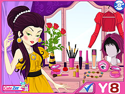 Stylish Cover Girl  Makeover game