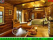 Hidden Numbers Wooden House