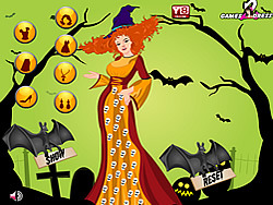 Halloween Day Dress Up game