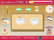 Game Strawberry Cake