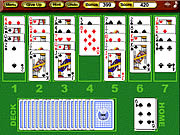 Crystal Golf Solitaire لعبة