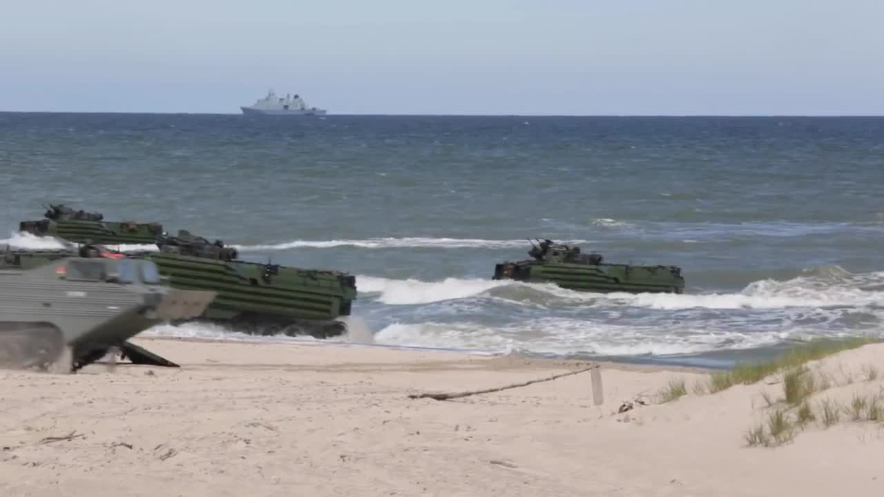 Watch free video A Show of Force in the Baltic Sea