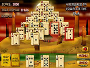 Game Pyramid Solitaire Mummy's Curse