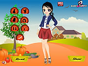 Thanksgiving Girl Dress Up game