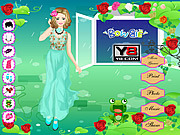 Juega al juego gratis Rose Party Dress Up