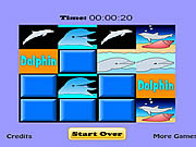 Dolphin Match Game game