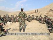 Training Afghan Army Officers