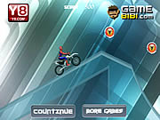 Juega al juego gratis Spiderman Ice Bike