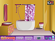 Juega al juego gratis Girl Bathroom Decor