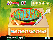 Delicious Vegetable Pizza game